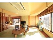 露天風呂付き客室「満天の夢」