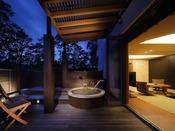 露天風呂付き客室 満天の夢