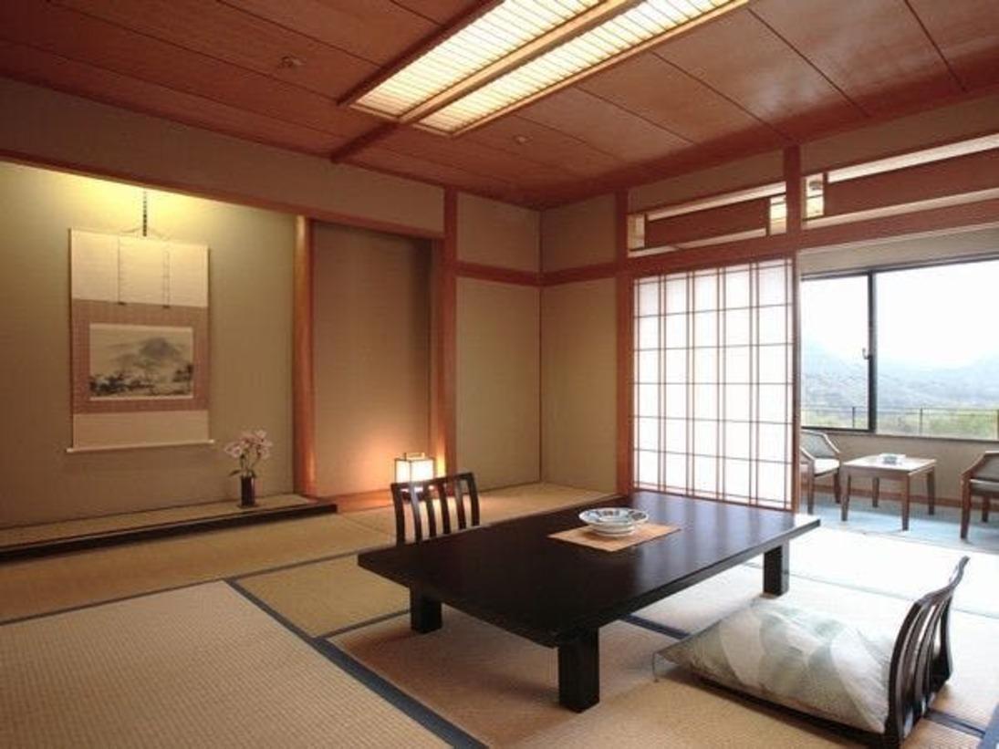 緑水亭のスタンダード和室(10畳)