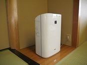 全客室に加湿機能付き空気清浄機をご用意。