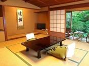 【純和風客室一例】中庭向きの客室からの景色※景色は選べません。
