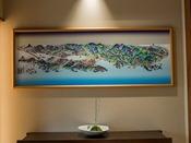 地元の職人さんによって、昭和12年に基づいて描かれた作品です!中には佳雲・月夜のうさぎも隠れていますよ♪