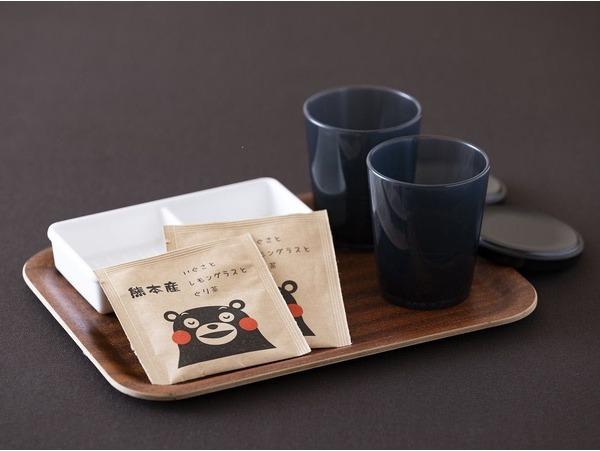 お茶セット くまもんが可愛いパッケージ
