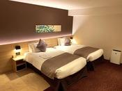 当館の客室で一番広いお部屋・デラックスツインルーム