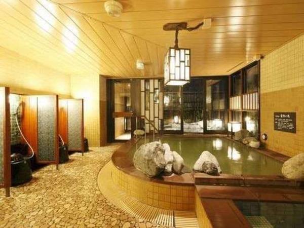 【霧桜の湯】男性大浴場(内湯)