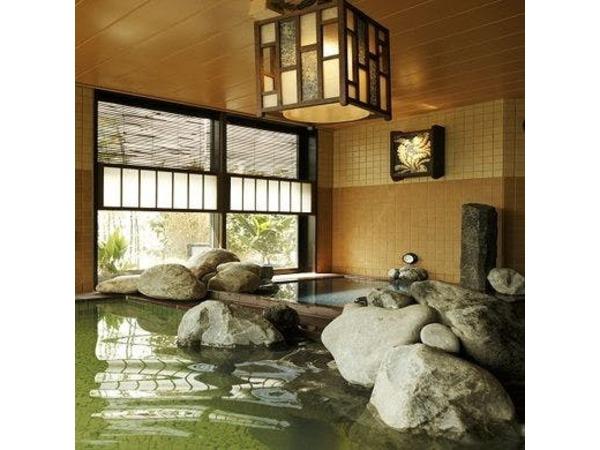 【霧桜の湯】男性大浴場
