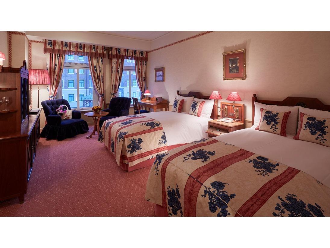 内海に面したロケーションになるため、どのお部屋も静かなゆったりとした時間が過ごせます。落ち着いたホテルステイに最適なお部屋です。