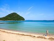 まるでプライベートビーチかのように、思い立ったらすぐに海へ遊びに行ける近さが魅力