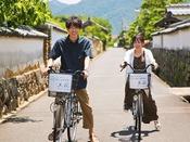 城下町「萩」を自転車で散策♪風情ある街並みの中走る爽快感♪