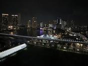【Plusフロア】豊洲方面の夜景