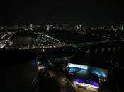 【スーペリアツイン】銀座方面の夜景