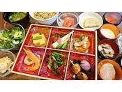 朝食「朝の彩り御膳と味めぐり小鉢横丁」