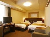 【ツインルーム】23平米ベッドサイズ110×205