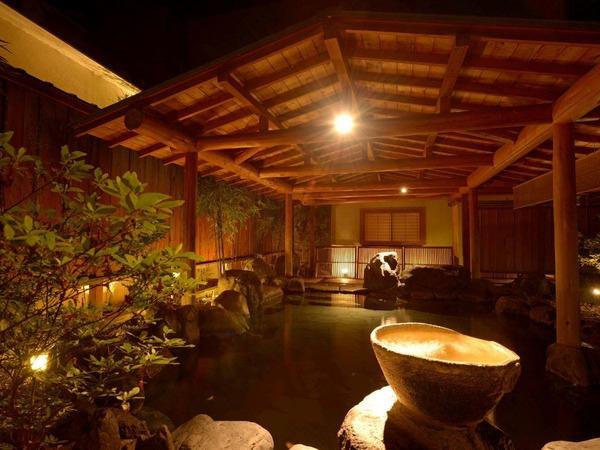 庭園露天風呂「たまゆらの湯」