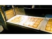 当館で収穫した蜂蜜を使用した「フレンチトースト」