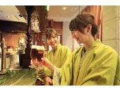 ビアカウンター「麦酒家(び~るや)」