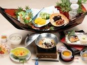 地元食材を使ったこだわりの朝食 ※一例