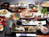 【お料理】鮟鱇鮪・贅沢セットプラン一例2