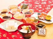 【年末年始特別お膳】三浦屋自慢手作り料理