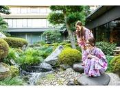 【館内施設】庭園