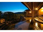 【温泉】展望風呂「天遊の湯」露天風呂