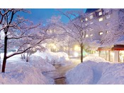 *【外観/冬】一面雪に包まれたスノーリゾート。