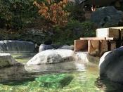 *【露天風呂】高原の風に当たりながらの心地よいひととき。