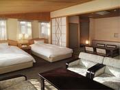 ■ファミリールーム【禁煙】(52平米)洋間+和室8畳