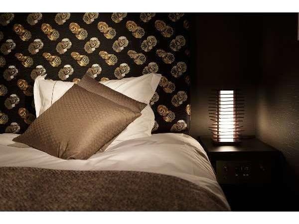 ベッドはスランバーランドグランドスイート