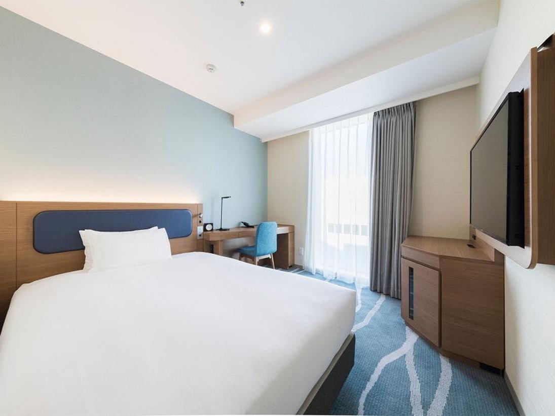 【客室】シングルルーム/部屋広さ…17平米・宿泊人数…1~2名・ベッド幅…140cm