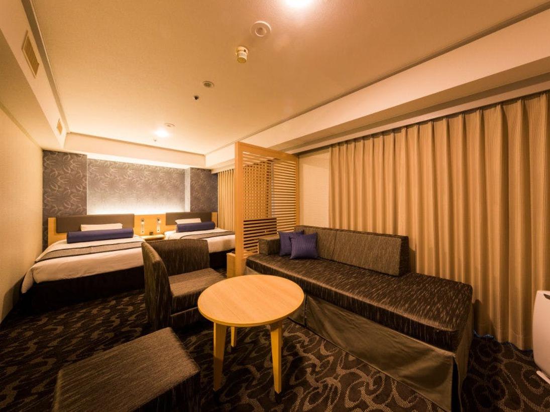 スーペリアデラックスツインルーム<13階・14階 全室禁煙>36平米
