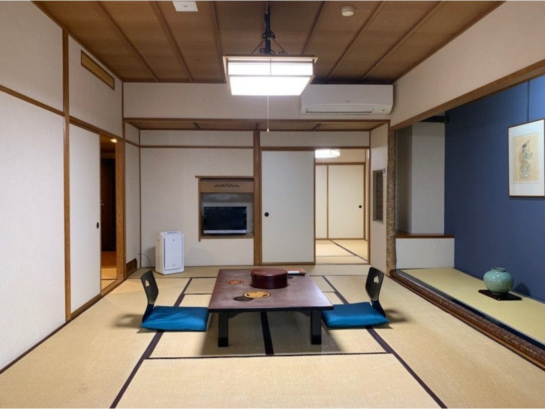 【露天風呂付和室】2間続き/12畳+6畳 禁煙室