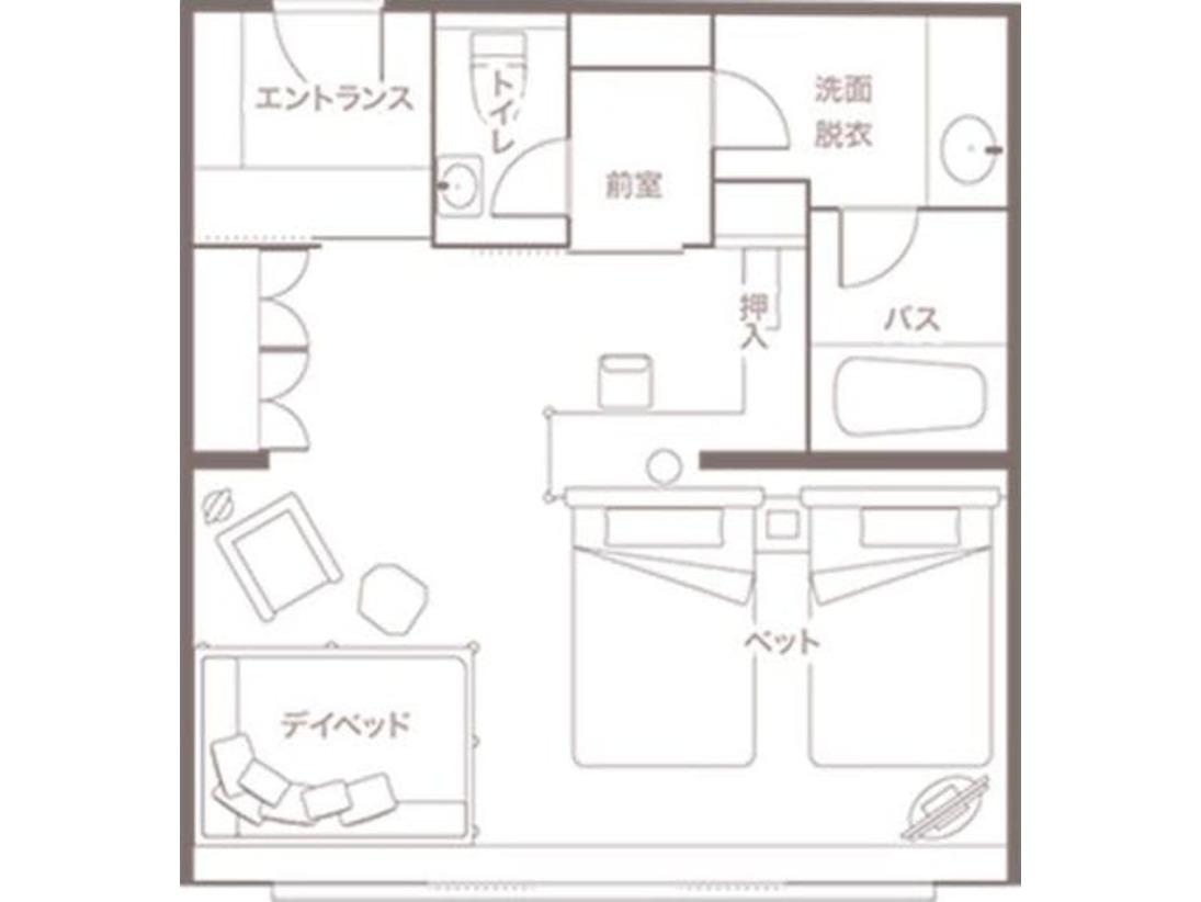 【客室】プレミアデラックスルーム