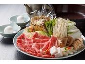 新潟県産和牛のすき焼き