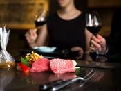 【北野】*イメージ*ブランド牛 神戸ビーフが味わえるオススメコースをご堪能ください。