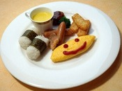 お子様用ワンプレート朝食