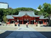 【生田神社】日本書紀に記されている歴史ある神社。縁結びの神様としても有名。恋愛成就を願うならぜひ!