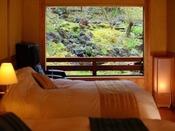 【若菜】ベッドルームの眺め