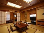 【紅藤】和室12畳+洋室の二間