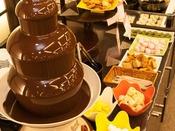 【ビュッフェ】お子様にも人気のチョコフォンデュ!※夕食時のみ