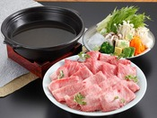 【銀泉鍋】さっぱりとした味付けで召し上がり下さい。