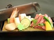 【三田牛竹蒸し】夕食ビュッフェのメイン料理。※イメージ