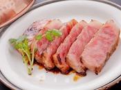 【三田牛網焼き】当館一番人気のお料理。