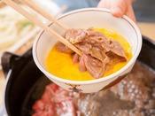 【三田牛すき焼き】三田牛をすき焼きでお楽しみ下さい!