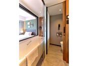 本館24階プレミアシングル バスルーム全室バス・トイレセパレートです。