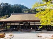 二尊院**嵐山地区にある京都市指定文化財。紅葉が美しいことで有名です(*^^*)