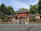 八坂神社**京都を代表する観光スポット!縁結び、厄除け、開運成就など他にも多くのご利益があります!