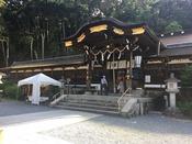 松尾大社**酒造家の信仰が厚い神社です