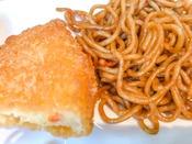 【和洋ビュッフェ朝食】コロッケ&焼きそば