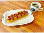 【MAX CAFEの日替わり無料軽朝食付き】※日替わりメニューはお選び頂けません。